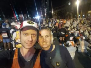 Hugo and I at the start of the Comrades Marathon 2017