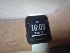 The Garmin Forerunner 35