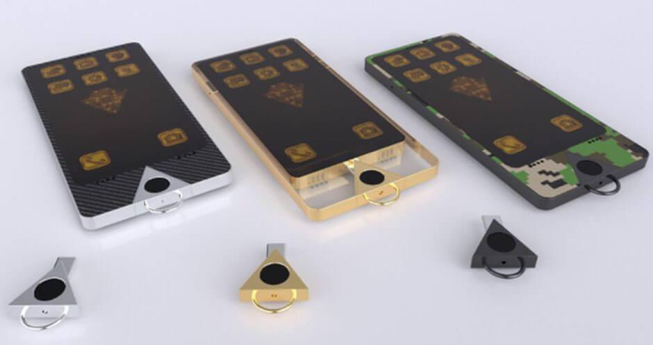 Karatbars K1 Impulse phone