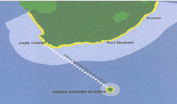 south africas exclusive economic zone or EEZ