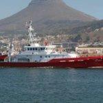 Victoria Mxenge inshore protection vessel