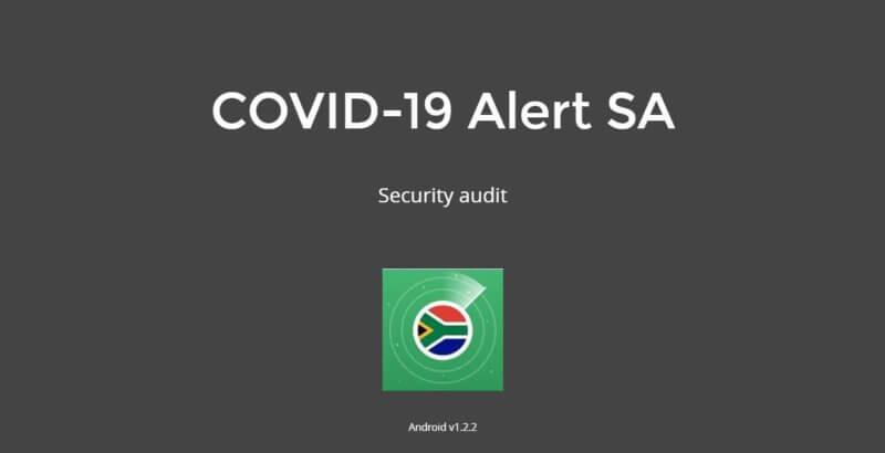 COVID-19 Alert App Security Audit